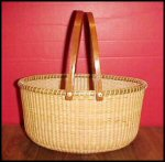 "11"" Oval Nantucket Basket"