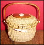 Miniature Nantucket Basket Purse