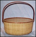 Sandsbury Oval Nantucket Basket