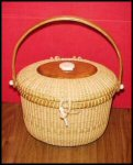 Nantucket Classic Purse Basket