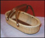 Oval Cracker Nantucket Basket