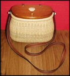Presidential Nantucket Creel Basket Purse