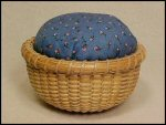 Pin Cushion Nantucket Basket