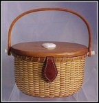Nantucket Basket Purse New England Style